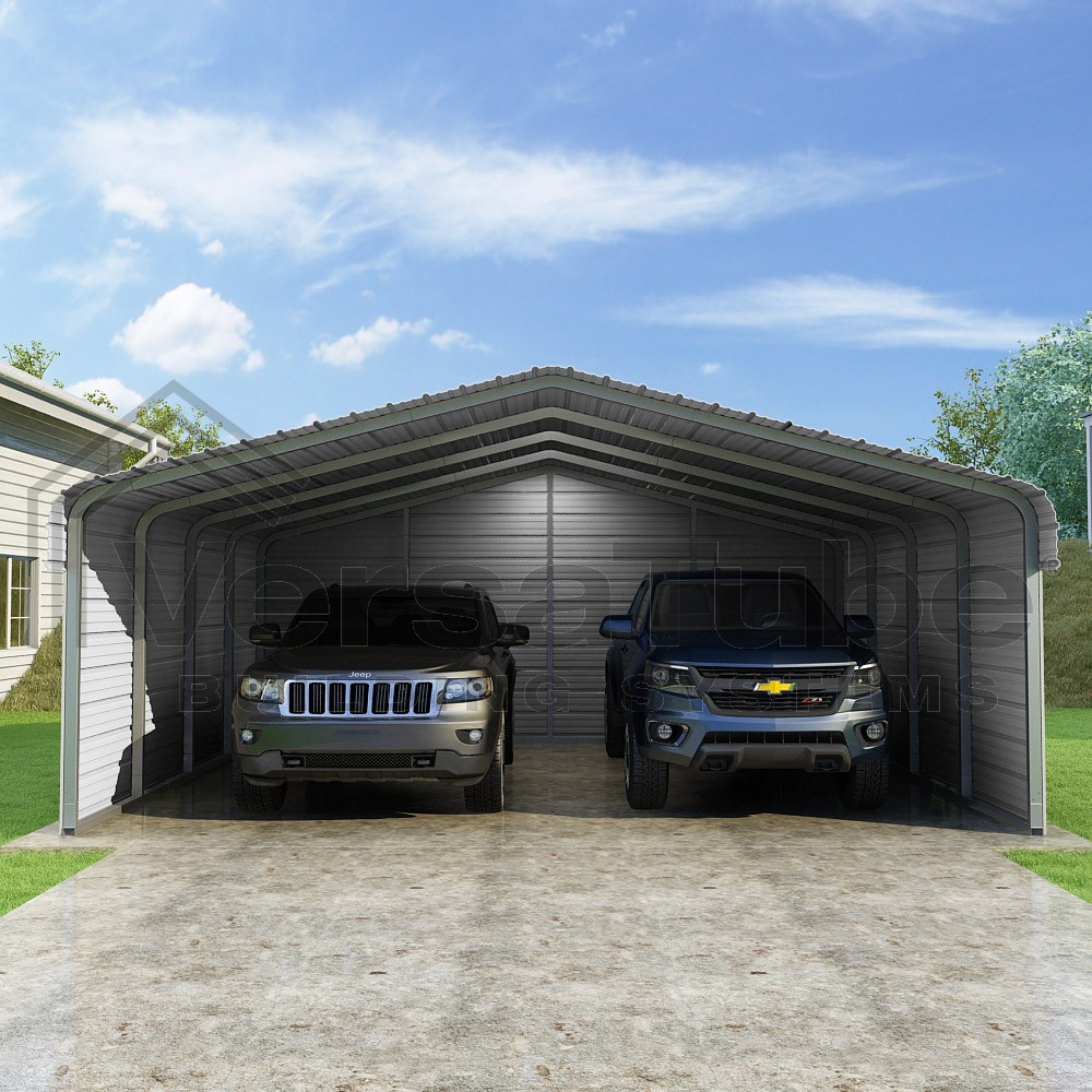 Classic Carports (3-Sided) – Central Oregon Metal Structures